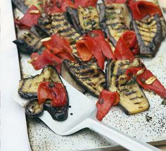 Aubergine & Pepper Salad Recipe on Yummly