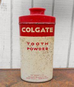 Vintage Colgate Tooth Powder