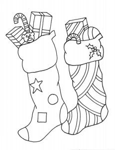 231 x 300 jpeg 14kB, Christmas Coloring Stocking/page/2 | Search ...