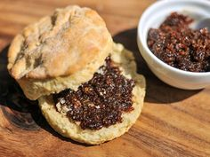 This complex mixture of sweet candied smoky–salty bacon—with earthy undertones from a hit of coffee, and pockets of heat—is great on burgers, pizza, biscuits, and more.