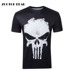be315a38fb77e6 Fashion 3D Funny Men Top Print Male tactical t shirt Brand Design Quality  punisher t shirt Summer Short Sleeve Tees ZOOTOP BEAR-in T-Shirts from Men's  ...