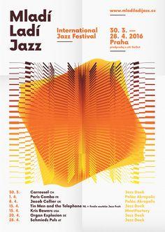 Rudolf Matejcek / Mladí ladí jazz poster