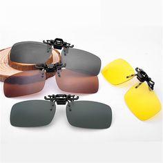 Men Women Retro Flip Up Polarized Sunglasses Clip On Myopia Glasses Kids Day Night Vision Goggles Sun Glasses UV400 Three sizes #clothing,#shoes,#jewelry,#women,#men,#hats,#watches,#belts,#fashion,#style