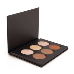 The premier contour and highlighting palette for professional makeup artists and makeup enthusiasts alike. Features 6 perfectly crafted highlighting and contouring shades for sculpting and defining your features.