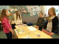 """Another easy example to stop sitting in the maths class from the """"Finnish Muuvit"""". This time the teacher uses cubes to make kids count and jump!"""