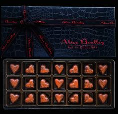 The Bronze Hearts www.alicebentleychocolates.com