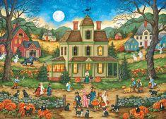 Halloween - Lucky Thirteen Jigsaw Puzzle | PuzzleWarehouse.com