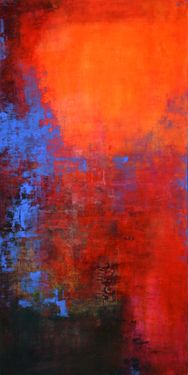 "Saatchi Online Artist: Ana Elisa Benavent; Acrylic, 2012, Painting ""Determined"""