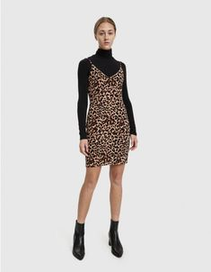 8c61774a41 Shop the Stelen Janet Leopard Mini Dress from Need Supply Co.