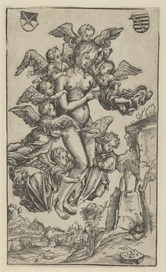 """""""The Ecstacy of St. Mary Magdalen"""" Artist: Lucas Cranach the Elder (German, Kronach 1472–1553 Weimar) Date: 1506 Medium: Woodcut; second state of two (Hollstein) Dimensions: Sheet: 9 5/8 × 5 9/16 in. (24.4 × 14.2 cm) Classification: Prints"""