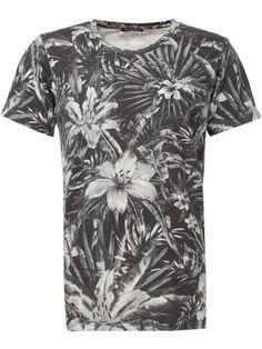 Balmain floral print T-shirt