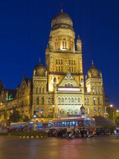 Chhatrapati Shivaji Terminus (formerly Victoria Terminus) in Mumbai.