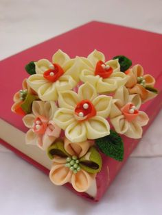 DAFFODILS and tangerine toned flowers bouquet by JagataraArt, $45.00