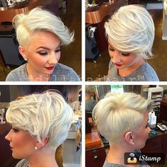 30 Standout Curly and Wavy Pixie Cuts - Beste Frisuren Haarschnitte Asymmetrical Pixie Haircut, Wavy Pixie Cut, Short Hair Cuts, Curly Pixie, Short Pixie, Short Wavy, Pixie Bob, Short Hair Shaved Sides, Assymetrical Haircut