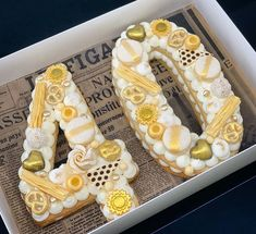 Shapes Biscuits, Biscuit Cake, Number Cakes, Culinary Arts, 40th Birthday, Cake Cookies, Cake Recipes, Cake Decorating, Good Food