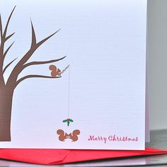 Christmas Cards . Holiday Cards . Cards by SweetBellaStationery, $18.00