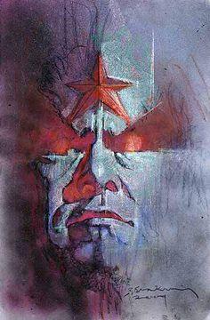 Bill Sienkiewicz Art | ... Obra Irriquieta de Bill Sienkiewicz » Artwork de Bill…