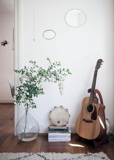 Swooning over this guitar corner.