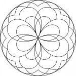 29 Best Simple Mandalas Images Simple Mandala Colors Coloring Pages