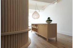 Grey Gray Long Curtain Divider Room Separation Yoga