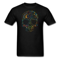 Buy now only $14 Skull Men's T-Shirt  http://shop.spreadshirt.com/orriart/skull+men's+t-shirt-A103383342?department=1&productType=210&color=000000&appearance=2&size=3&locale=us_US  #skull #horror #follow #like #skulls #orriart #tribal #tattoo #gothic #skeleton #death #black #white #Halloween #horror #metal #rock #bones #spooky #undead #goth #original #unique #cool #awesome #human #dead #vector #skulltee