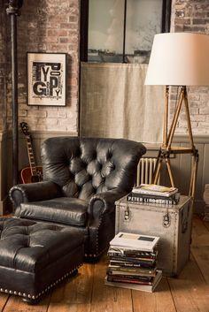 Ralph Lauren Home Collection Masculine Cosy Corner....
