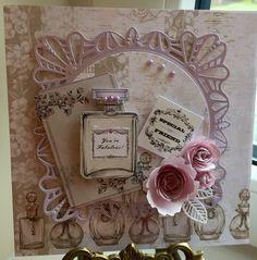 Craftwork cards vintage ephemera. Spellbinders. Sue Wilson dies. Wild orchid flowers