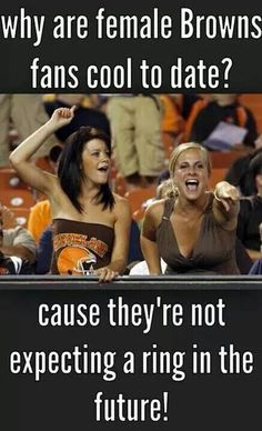 Cleveland Browns female fans