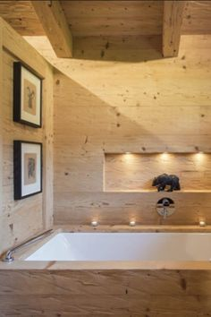 White Ace is the truly exceptional stand-alone chalet near the centre of Gstaad. An impressive alpine retreat, this chalet is nestled in a beautiful hamlet surr Chalet Chic, Chalet Style, Diy Bathroom Remodel, Bathroom Renovations, Bathroom Interior, Romantic Bathrooms, Amazing Bathrooms, Chalet Design, House Design