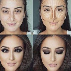 Makeup & Hair Ideas: 15 transformations make-up qui vont vous coller des frissons !  Les Éclaireuse
