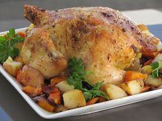 A New Favorite Recipe: Roasted Chicken and Vegetables - Thriving Home
