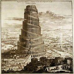 Athanasius Kircher, Babel Towel (1679)