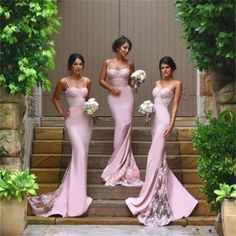 Sexy Mermaid Spaghetti Straps Bridesmaid Dresses,2017 Cheap Custom Popular Prom Dresses, Wedding Party Dresses,Long Bridal Gowns, PD0010 The dress is fully lined, 4 bones in the bodice, chest pad in t