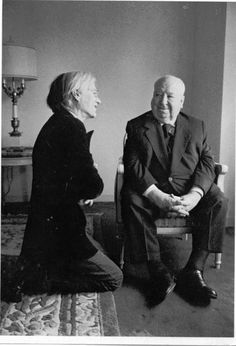 Andy Warhol + Alfred Hitchcock