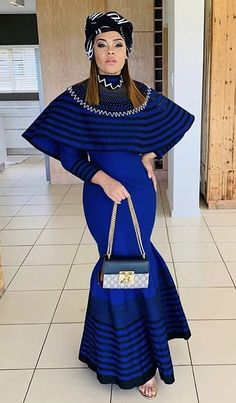 Xhosa Attire, African Attire, African Fashion Dresses, African Wear, African Dress, Fashion Outfits, South African Traditional Dresses, Traditional Wedding Dresses, Traditional Outfits