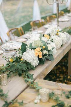 galda malas dekori