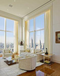 Ultra Luxury Design: A Billionaire's #Penthouse In New York