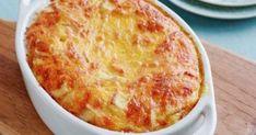 Μια εύκολη συνταγή (από εδώ) για ένα πεντανόστιμο Κοτόπουλο… σουφλέ. Με φιλέτα κοτόπουλου και μια χούφτα υλικά φτιάχνουμε ένα ψευτοσουφλέ, που θα Cookbook Recipes, Cooking Recipes, Portobello Mushroom Burger, Baked Pasta Dishes, The Kitchen Food Network, Canned Chickpeas, Sliced Almonds, Greek Recipes, How To Cook Pasta