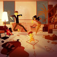 Dance♡  ♡  Imagine~  Illustration Pascal Campion