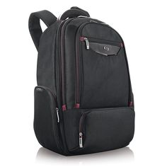 """Solo Urban Collection Thrive 17.3/"""" Laptop Backpack with Pocket for Tablet"""