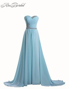 Elegant Evening Dresses Sweetheart Sleeveless Beaded Lace Up Back Prom Party Gowns Chiffon Special Occasion Dresses