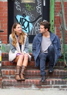 Nico and Sutton stoopin' it up. Watch the new series YOUNGER coming to TV Land March 31 10/9C! From the creator of Sex and The City, 'Younger' stars Sutton Foster, Hilary Duff, Debi Mazar, Miriam Shor and Nico Tortorella. Catch a sneak peek at http://www.tvland.com/shows/younger.