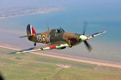 "blogmachineimages: "" Hawker Hurricane Source: https://openpics.aerobatic.io/ """