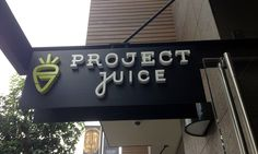 Project Juice bar branding and package design by Chen Design Associates