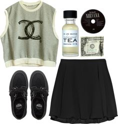 """forget shit and move on"" by rosiee22 ❤ liked on Polyvore"