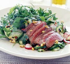 Perk up your steak with this tangy oriental main-meal idea from Brian Glover