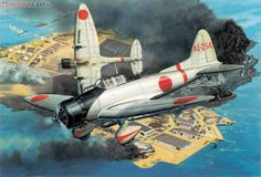 Aichi D3A type99 `Val` Dive Bomber.