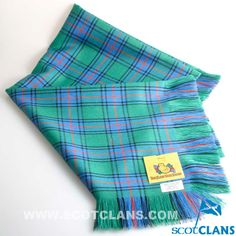 Clan Shaw Tartan Sha