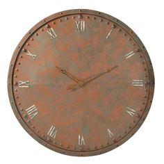 Reloj de estilo industrial Jefferson