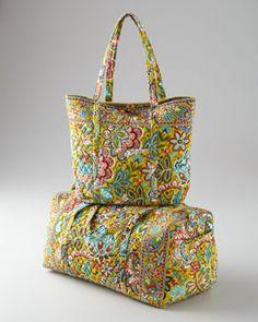 -40Z8 Vera Bradley Provencal Luggage Collection